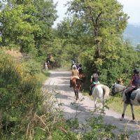 passegiata a cavallo